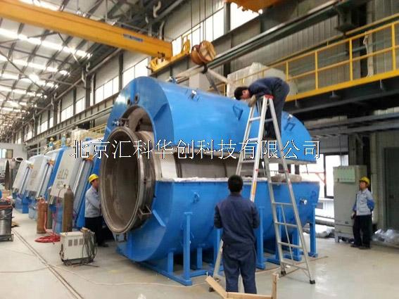 卧式脉冲气体氮化炉